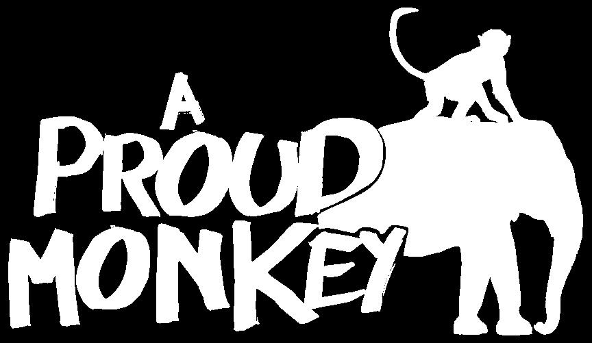 ProudMonkeyLogoWhite